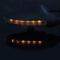 yamaha yan aynalar toptan satış-YAMAHA YZF-R1 YZF R1 2009-2014 Için dikiz Aynaları 10 11 12 13 Motosiklet Ayarlanabilir Yan Dikiz Aynası LED Dönüş Sinyali