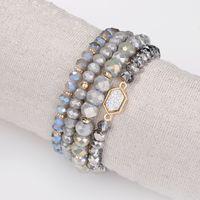 mädchen armbänder großhandel-Damen Perlen Armband - Mode Boho Charm Bead Armbänder Schmuck für Frauen Mädchen Geschenke - mehrschichtiges Armband 6 Farben