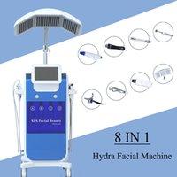 typen gesichtsmaschinen großhandel-Hydrafacial Maschine Hautpflege und Verjüngung Diamond Peel Microdermabrasion Hydra Dermabrasion Facial Machine Geeignet für alle Hauttypen