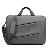bolso para laptop oxford al por mayor-Maletín de negocios a prueba de agua para hombre Oxford Bolso para laptop Bolsos de hombro Bolso cruzado Carry On Handle Case para computadora / portátil / MacBook