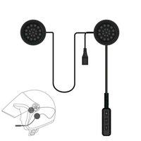 motosikletler için bluetooth kask kulaklık toptan satış-V4.1 + EDR Motosiklet Kask Kulaklık Kablosuz Bluetooth Kulaklık Hoparlör Handsfree Müzik Otomatik Çağrı Cevapla ...