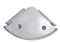 ingrosso angoli di plastica-Mensola bagno angolare a parete Mensola multifunzione a scatto mensola bagno in plastica mensola accessori bagno cucina VVA331