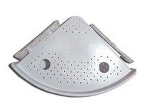 аксессуары для настенного монтажа оптовых-Настенная угловая полка для ванной Многофункциональная съемная полка пластиковая полка для ванной Кухонные аксессуары для ванной комнаты VVA331
