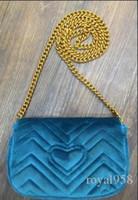 nouveau sac à main de marque achat en gros de-2019 Brand New Design Hot femmes sacs à main en velours d'épaule Message chaîne sacs plus de couleurs godd qualité livraison gratuite
