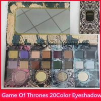 ingrosso top palette di trucco-Trucco 2019 Famous Game Of Thrones Limited Edition Eye Shadow 20 colori dell'ombretto di colore Top Quality Cosmetics Eyeshadow Palette
