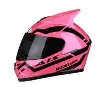capacetes de bicicleta de marca venda por atacado-2020New fresco Capacete Marca face motocicleta completa Capacetes Moto Capacete Casco Moto Motor Bike Capacete Capacetes