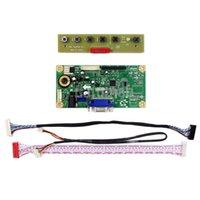 lcd yazıcı sürücüsü toptan satış-G084SN05 V8 HDMI + DVI + VGA LCD LED ekran Denetleyici Kurulu Driver Latumab Kontrol Kurulu Monitör Kiti