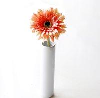 gerbera sonnenblume großhandel-20 stücke MOQ Silk Sunflower Brautstrauß 4