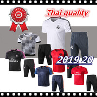 Wholesale kit outfit resale online - 2018 Man Tranning SUIT SHORT SLEEVES AND PANTS KIT city outfits Tracksuits DE BYUYNE KUN AGUERO training suit chandal sportswear