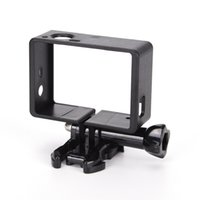 Wholesale gopro protective case resale online - Standard Case Border Frame Mount Protective Housing for Hero Gopro TSUS Sport Action Camera Accessories set