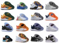 Wholesale paul george shoes size resale online - NASA Paul George PG S PALMDALE III P GEORGE Mens Basketball Shoes Cheap PG3 Starry Orange Red Sports Designer Sneakers Size