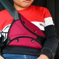 çocuklar bebek koşum takımı toptan satış-Kılıf Bebek Çocuk Koruma Çocuk Omuz Harness Askı Tutucu Araç Çocuk Güvenliği Kapak Emniyet Kemeri Üçgen Yeni