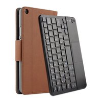 Wholesale leather case for huawei mediapad for sale - Group buy Media Pad T3 Bluetooth Touchpad Tablet Keyboard Leather Case Set for Huawei Play Mediapad T3 Trackpad Keyboard With Protector