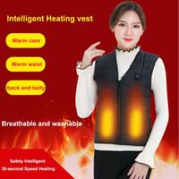 infrarouge thermique achat en gros de-USB Infrared Heating Gilet Veste Flexible Électrique Thermique Vêtements Gilet Hommes Femmes En Plein Air D'hiver Pour Sports Randonnée