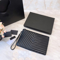 Wholesale brand l bags resale online - Y and S and L A quality luxury Designer brand handbags Designer Clutch Bags real leather Bag Designers wallet With box