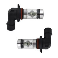 Wholesale high power fog lights resale online - 2PCS LED Fog Light Bulbs k W High Power Super Bright LED Car Headlight Auto Head Driving Blub