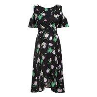 e2c720aaa Vestido de manga corta con cuello en V floral para mujeres Mujeres  embarazadas Estampado de maternidad Ropa de lactancia embarazada Embarazada  de maternidad