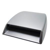 cubiertas de la campana de ventilación al por mayor-Capa de admisión decorativa exterior Bonete autoadhesivo Styling Flow Auto 3D Simulación Etiqueta engomada del coche Accesorios Vent Cover