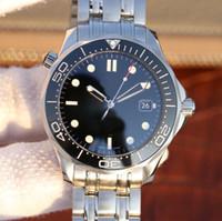 relógio digital a prova d'água digital a prova de inox venda por atacado-2019 novos relógios de luxo mens 2824 41mm Cerâmica Bezel movimento mecânico de Aço Inoxidável relógios automáticos à prova d 'água
