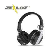 Wholesale zealot bluetooth for sale - Group buy RETAIL ZEALOT Wireless Bluetooth Headphones B17 Casque Over Ear Stereo TF Card16GB FM radio Foldable Flexible Design Metallic Material
