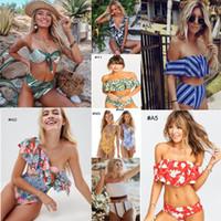ingrosso trasporto del bikini-267 stili nuovi arrivi Costume da bagno bikini sexy due pezzi Bikini triangolo Costume da bagno donna sexy Costume da bagno Reggiseno imbottito Bikini libera la nave