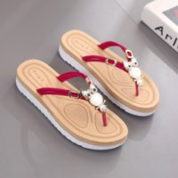 Wholesale women owl shoes resale online - 2019 new fashion slippers women summer women s flip flops quality non slip slippers cartoon owl womens shoes