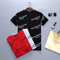 lista de marcas venda por atacado-Moda masculina / designer de mulheres T-shirt, marca carta de manga curta moda BB marca em roupas T-shirt casual T-shirt nova listagem