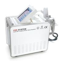 equipamento de spa gratuito venda por atacado-5 In1 VSS SYSTEM nenhuma agulha Mesoterapia máquina com agulha de resfriamento de gelo Free Gun LED Facial máscara facial SPA V-Shaping sistema beleza equipamentos