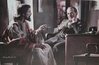 Wholesale jesus art prints resale online - Harry Anderson DIVINE COUNSELOR Jesus Counseling Businessman Home Decor HD Print Oil Paintings On Canvas Wall Art Pictures
