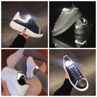 Wholesale tennis uk resale online - 3M reflective UK mens designer shoes new fashion luxury designer women shoes Party Platform casual ladies sneakers EUR