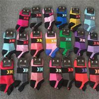 calcetines de secado rapido al por mayor-El nuevo estilo con las etiquetas de secado rápido Calcetines unisex adulta calcetín corto animadora se divierte los calcetines del tobillo del calcetín adolescentes Multicolors