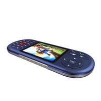 lecteur vidéo pour mobile achat en gros de-Console de jeu vidéo de 2,8 pouces pour console de jeu PSP Double carte 2G Mobile Téléphone Mini Pocket Jeu de poche Support Player 4 Fréquence