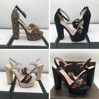 europäische neue frauen ferse großhandel-der europäischen Station der hohen Absätze der Frauen neue hochwertige lederne Schuhe 35-40 beiläufige Schuhe Fabrikverkäufe geben Verschiffen frei