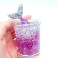 Wholesale crystal for sales for sale - 60ml Coloring Slime Mud DIY Decompression Toys Novelty Mermaid Crystal Cotton Clay For Kids Hot Sale qx Ww
