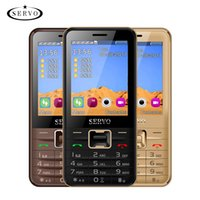 Wholesale big keyboard phones resale online - Unlocked cell phones keyboard inch HD Big Screen SIM cards standby mobile phone GPRS MP4