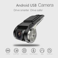 usb gizli video kamera toptan satış-Gizli USB Araba Video Kamera Full HD Sürücü Kaydedici 1080 * 720 Çizgi Kam Araba DVR Kamera Gece Görüş Video Kaydedici Çizgi Kam