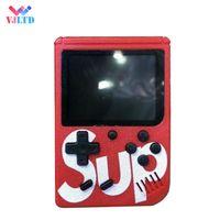 romantik curl haare großhandel-G4 Retro FC 8-Bit-Mini-Handheld tragbare Spiel-Spieler Spielkonsole 3 LCD-Bildschirm Textur Oberfläche TV-Out Beste Geschenk PK PAP PXP3