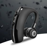 téléphones commerciaux sans fil achat en gros de-V9 Business, Casque Bluetooth Sport suspendu à puce RSE sans fil, Casque Bluetooth mono-oreille, Écouteurs pour téléphone portable