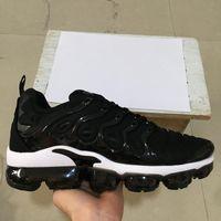 markenspiele großhandel-Brand New TN PLUS Männer Frauen Designer Schuhe Schwarz Geschwindigkeit Rot Weiß Spiel Royal Anthrazit Ultra Weiß Schwarz Laufschuhe 2019 Sneakers 36-45