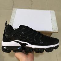 jogos 45 venda por atacado-Nova marca TN PLUS Homens Mulheres Sapatos de Grife Preto Velocidade Vermelho Branco Jogo Royal Anthracite Ultra Branco Preto Tênis 2019 Sneakers 36-45