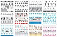 Wholesale nail water decals transfers for sale - Group buy Salon Sticker Nails Art Decals Brand Logo Pattern Water Transfers Nail Sticker DIY Nail Art Tips Decoration Designs