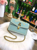 Wholesale metallic wallets online - 2018 Hot Sale Fashion Handbags Women Bags Designer Handbags Wallets for Women Leather Chain Bag Crossbody and Shoulder Bags Hot Tide
