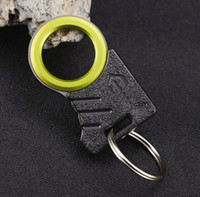 ingrosso attrezzi da campeggio gadget-Outdoor Single Finger Sharp Twine Knife Cutter Taglio Coltello Gancio Gancio Kit EDC Auto Gadget di Emergenza di Salvataggio Strumento di Sopravvivenza di Campeggio