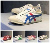 lüks koşu ayakkabıları toptan satış-2019 MEKSIKA Onitsuka Kaplan koşu ayakkabıları spor erkek kadın causel ayakkabı mens Eğitmenler lüks chausses MEKSIKA moda Tasarımcısı Sneakers 36-44