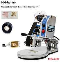 Wholesale stamp printer machine resale online - Via DHL DY date coding machine printing machine Manual expiry date code printers Hot Foll Stamp Coder expiry date machine