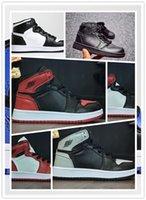 babys tops toptan satış-NIKE AIR JORDAN RETRO shoes Sıcak satış 1 1 s Çocuklar basketbol ayakkabı En Kaliteli Erkek Kız Çocuk Babys sneakers yaz Açık rahat spor koşu ayakkabı boyutu 28-35