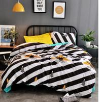 weiße kingsize-decke großhandel-100% White Superfine Faser Winter Quilt Tröster Polyester Decke Bettdecke Füllung mit Baumwollbezug Twin Queen King Size