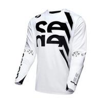mtb bicicleta dh jerseys al por mayor-2019 SIETE camisetas de manga larga ciclismo hombre camisetas de bicicleta de montaña camisetas enduro camiseta dh mtb offroad motocross bmx camiseta