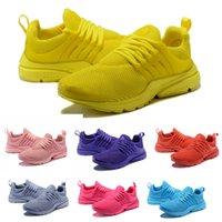 zapatillas directas al por mayor-Venta directa Presto Extreme GS 5 mujeres zapatillas para hombre zapatos casuales Breathe Negro Blanco Amarillo Rojo zapatillas de deporte de diseño US5.5-11