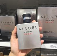 homens perfume quente venda por atacado-HOT Top Venda Perfume Presentes de Férias Glamour Eau de Toilette Esportes Dos Homens Colônia EDT 100 ml frete grátis